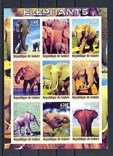FRANCE REP GUINEE  2000  SHEET  IMPERF  ELEPHANT   **  VF