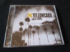 YELLOWCARD Lights And Sounds CD POP PUNK NEW FOUND GLORY