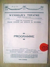 Wyndham's Theatre Programme 1920- THE PRUDE'S FALL by Rudolf Besier & May Edgint