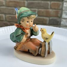 "Goebel Hummel. W Germany Porcelain Figurine ""Singing Lessons"" 63. Tmk5"