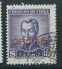 CHILE 1956-58 OFICIAL Sc.O75 F.A. PINTO USED