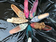 Just The Right Shoe Small Joblot of 8 Shoes , Lovely Condition , Unboxed