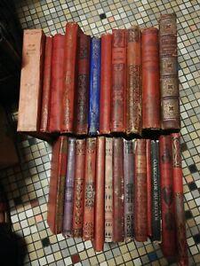 Lot De Livres De Prix Anciens XIXème Et XXème siècle Collection