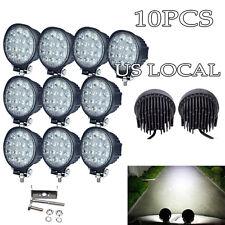 10PCS 42W Cree LED WORK LIGHT BAR FLOOD BEAM LAMP OFFROAD TRUCK 12V SUV ATV JEEP