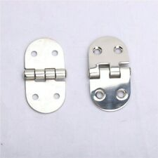 "Pair Marine Stainless Steel Butterfly Hinges 3"" X 1.5"""