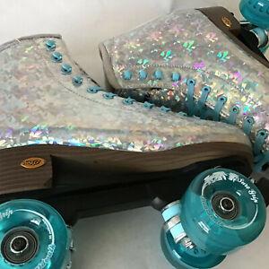 Sure-Grip Prism Plus LE Skates Silver 9.0 --