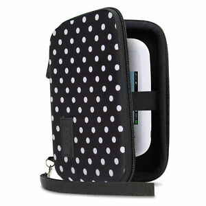 Hard Shell Electronics Case for Hard Drives, iPods, Portable Wi-Fi, Cables, etc.