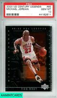 2000 UPPER DECK CENTURY LEGENDS Michael Jordan #85 CHICAGO BULLS PSA 10 GEM MINT