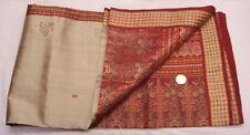 Pure Silk Sari Change Color in Light 2 Tone Golden Zari Woven Heavy Saree