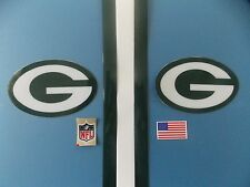 Green Bay Packers football helmet decals set