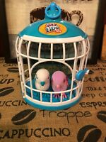 Little Live Pets Royal SWEETHEARTS LOVE BIRDS with Cage - Two  Birdies