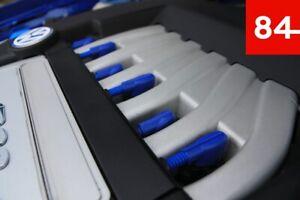 +6x Zündspulen Kappe Cover Blau R36 R32 + 1x Wellrohr 03H 971 921 A 03H971921A+