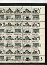 {Bj stamps} #1928-31 Architecture. 18¢ Mnh Sheet of 40. Issued in 1981.
