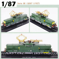 Locomotive 1:87 Retro Train Model Serie BB 12087(1957)Collection Decoration Gift
