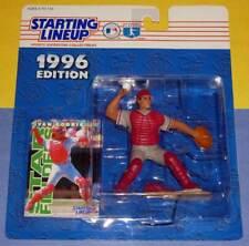 1996 IVAN RODRIGUEZ Texas Rangers - FREE s/h - catcher pose Starting Lineup NM+