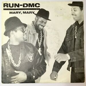 "RUN DMC Mary Mary / Raising Hell HIP HOP RAP CLASSIC 7"" Single"