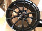 Corvette Grand Sport Wheels Gm Gloss Black 20x12 19x10 2017-19