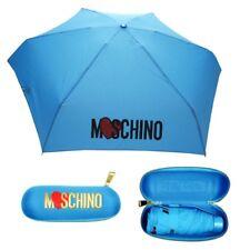 Moschino super mini piccolo Ombrello azzurro rosa con custodia 8020 umbrella