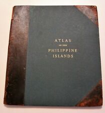 ATLAS OF THE PHILIPPINE ISLANDS 1900 Color Maps