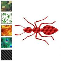 Ant Bug Pest Insect Decal Sticker Choose Pattern + Size #2907
