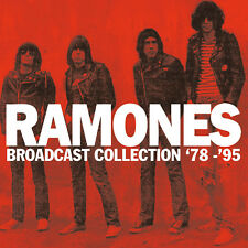 RAMONES - Broadcast Collection '77 - '95. 9CD BOX SET + Sealed. **NEW**