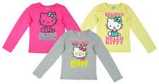 Vêtements t-shirt gris pour fille de 2 à 16 ans en 100% coton