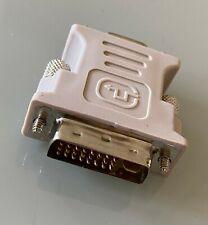Adaptateur VGA vers DVI - beige - BE