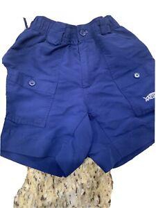 Boys Navy Aftco Shorts Size 26