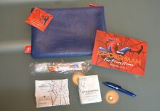 """United Airlines  Limited Edition Amenity Kit """" Spiderman Far from Home"""",Blue !!!"""