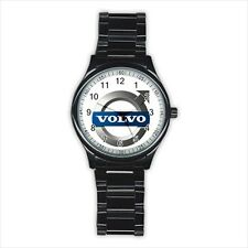 Volvo Car Automobile Logo #D01 Stainless Steel Round Watch