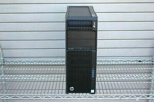 HP Z640 Workstation 2 X SIX CORE 2.40GHz E5-2620v3 16GB 1TB HARD DRIVE TOWER