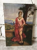 Canvas oil painting, Biblical story, John the Baptist, Herodias