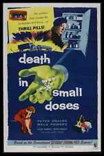 Death In Small Doses Poster 01 A2 Box Canvas Print