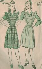 Vintage 40s Advance Sewing Pattern 3152 Misses Pinafore Size 14 B 32