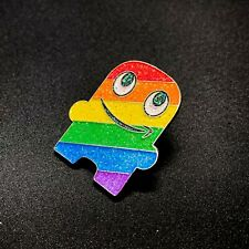 *BENEFITS CHARITY* Special Edition Glitter Pride Peccy Pin