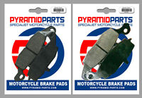 Front Brake Pads (2 Pairs) for Kawasaki Z 750 S 05-06