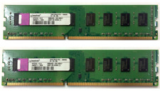 KIT RAM 4GB 2X 2GB DDR3 PC3-10600 1333MHz 1333 MEMORIA PC3-10600U 240PN KINGSTON