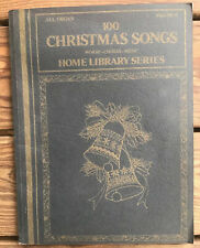 All Organ 100 Christmas Songs Home Library Series Vol 6 Chords Music Words