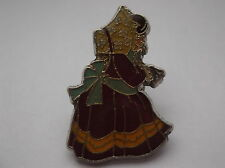 Holly Hobby Style Girl Pin Badge