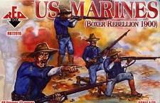 Red Box Models 1/72 U.S. MARINES 1900 BOXER REBELLION Figure Set