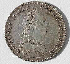 JETON DES ETATS DE BRETAGNE - EN ARGENT - 1768 - D. 28 mm - 6,7 g