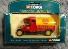 Corgi Motoring Memories vintage petrol Shell Fuels and Oils NIB never opened