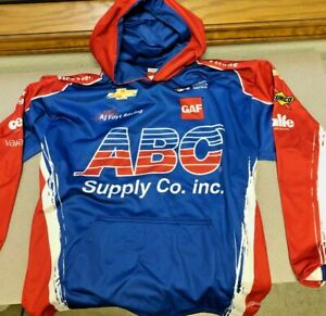 AJ Foyt Racing Garage Sale- Team Hoodie Pit Crew Shirt Copy - IndyCar Chevy