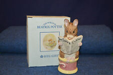 Royal Albert Beatrix Potter Large The Tailor Of Gloucester Figurine Boxed SW3