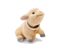 Lovable Bobblehead Sheep with Auto Dashboard Adhesive