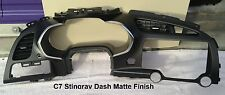 C7 Corvette Carbon Fiber Dash - OEM Matte Finish