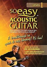 So Easy: Acoustic Guitar Lessons, Level DVD