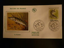 FRANCE PREMIER JOUR FDC YVERT 2666 POISSON LE BROCHET 5F NEUILLY SUR SEINE 1990