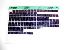 Honda VT750 DC BLACK WIDOW SHADOW SPIRIT Bj 2000 Microfilm Microfich  Ersatzteil