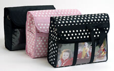 Classic Black Picture Photo Diaper Baby Messenger Bag NWT